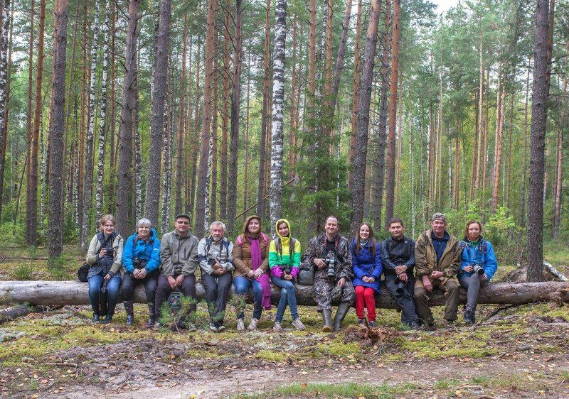 Участники фотошколы в заповеднике НУРГУШ. Фото А. А. Широких