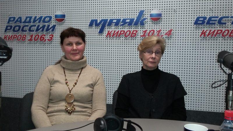 После эфира Л.Г. Целищева и Е.М. Тарасова.