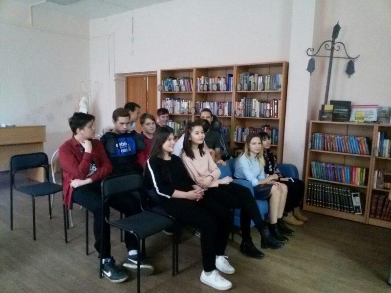 Ученики 10 Б класса. Фото И.С. Пенкиной
