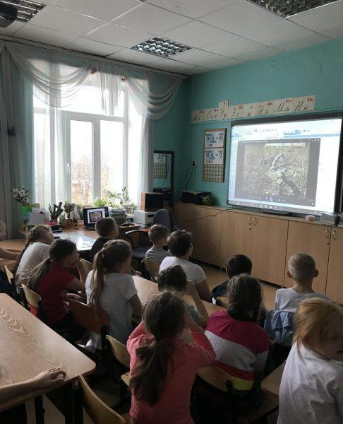 Ученики 3 В класса СОШ №45. Фото И.С. Пенкиной