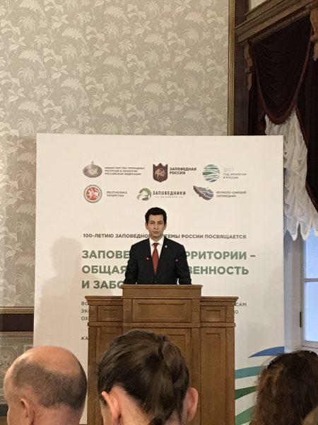 Ф. С. Абдулганиев Министр экологии и природных ресурсов Республики Татарстан. Фото И. С. Пенкиной