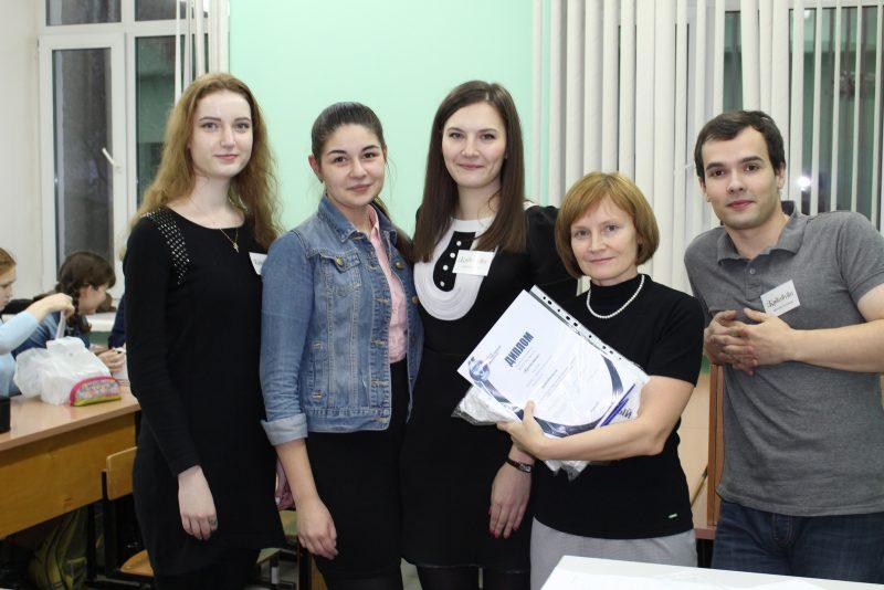 Команда победителей Кропотон и Шушуканова Е.Г.