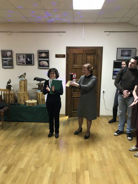 Открытие выставки. Фото И.С. Пенкиной