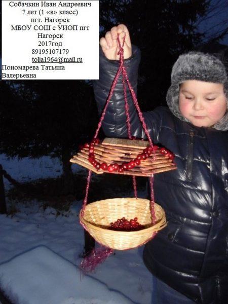 2 место Иван Собачкин МБОУ СОШ с УИОП пгт Нагорска