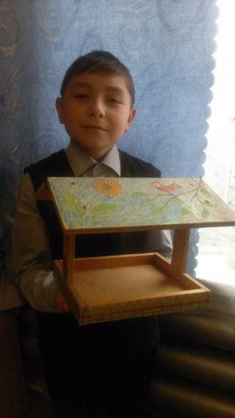 2 место Рамис Нагимов, Краснополянская детская библиотека-филиал МКУК ,,Вятскополянская РЦБС,,