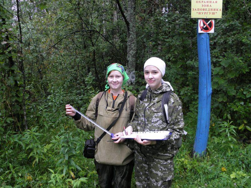 Екатерина Рогожникова м.н.с. и Кислицына Наталья-волонтер. Фото Л. Г. Целищевой