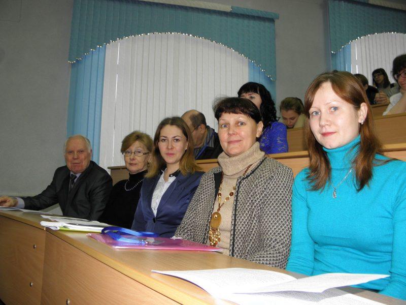 На конференции в ВятГУ. Фото В. Рутмана