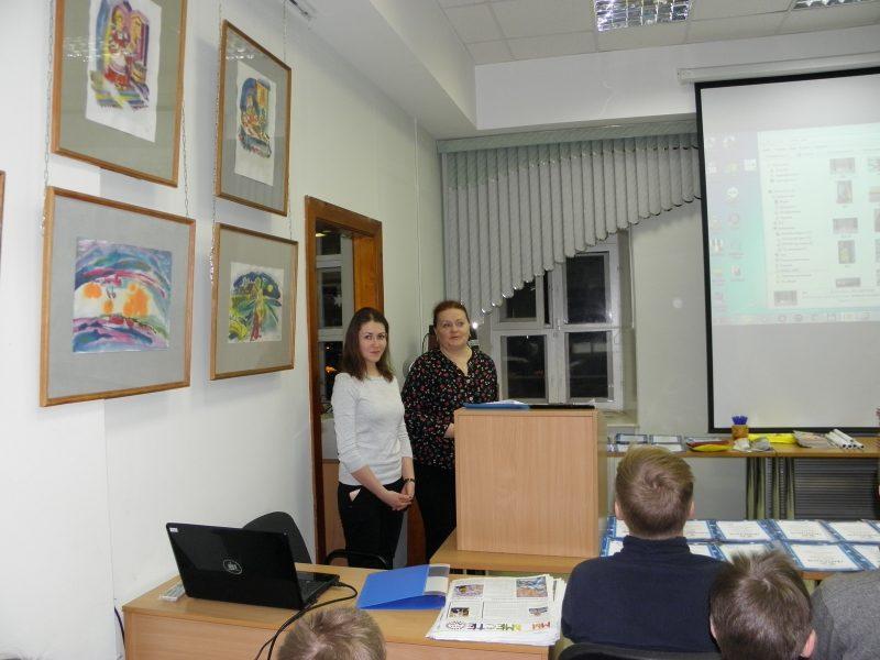 М. Н. Владыкина и Л. А. Бояринцева. Фото Л. Г. Целищевой