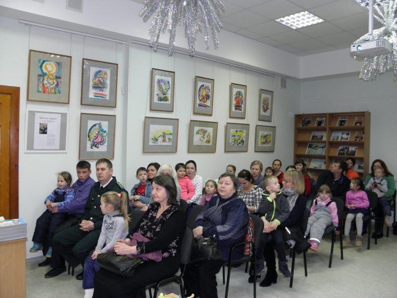Зрители и победители конкурса. Фото Л. Г. Целищевой