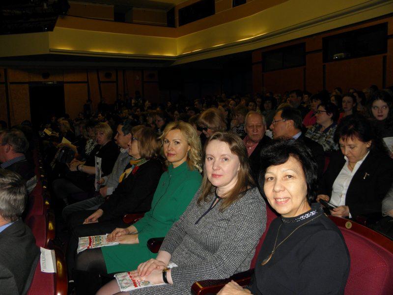 И.С. Пенкина на форуме по итогам проведения Года экологии. Фото Л.Г. Целищевой
