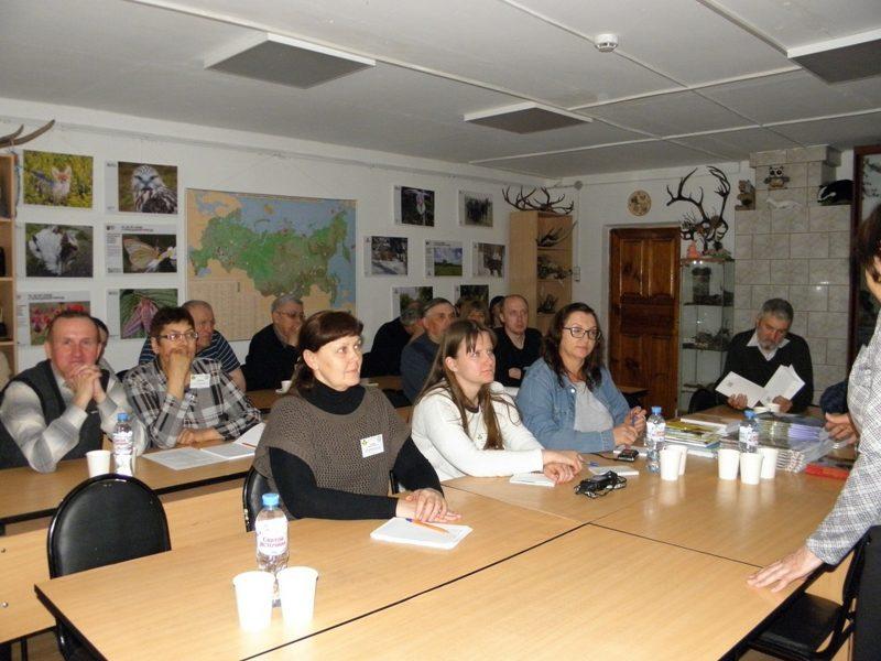 На секционном заседании научных сотрудников. Фото Кораблевой