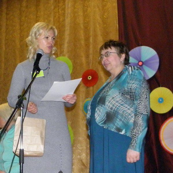 Пенкина И.С. и Селезенева О.А. Фото Л.Г. Целищевой