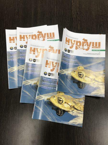 Газета Нургуш №1(9), 2018 год. Фото И.С. Пенкиной