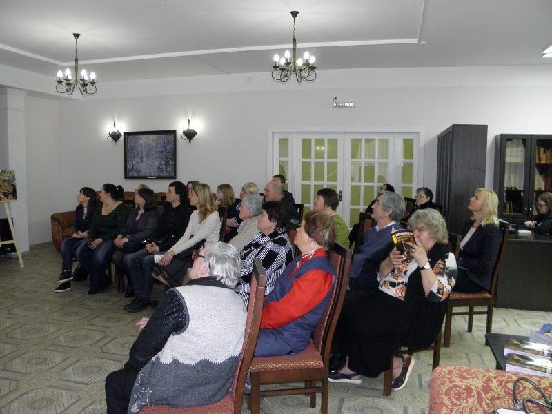 На презентации новой книги заповедника Нургуш. Фото Л.Г. Целищевой