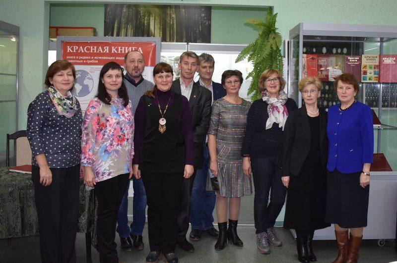 Авторы Красной книги Кировской области. Фото Н. С. Рычковой