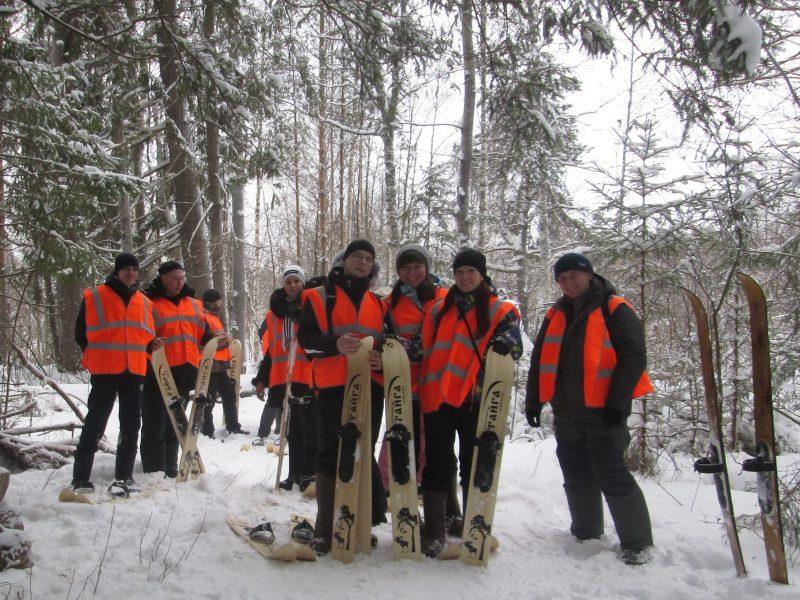 Лыжная экскурсия по экологическим тропам