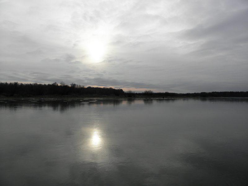 Лед на озере Старица. Фото Л.Г. Целищевой