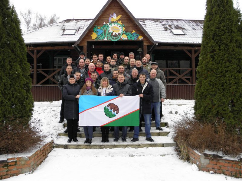 Участники семинара Школа госинспектора в заповеднике Большая Кокшага. Фото Н. М. Сафиной