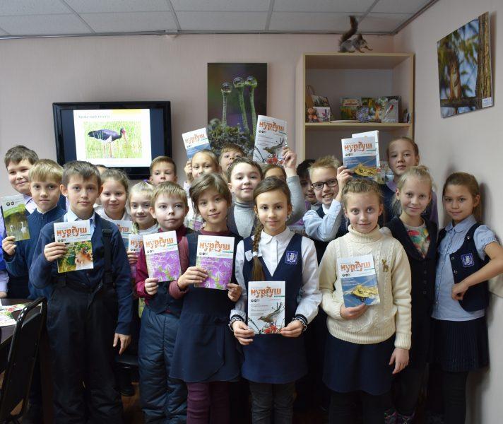 Ученики Вятской государственной гуманитарной гимназии Фото. Н.С. Рычковой
