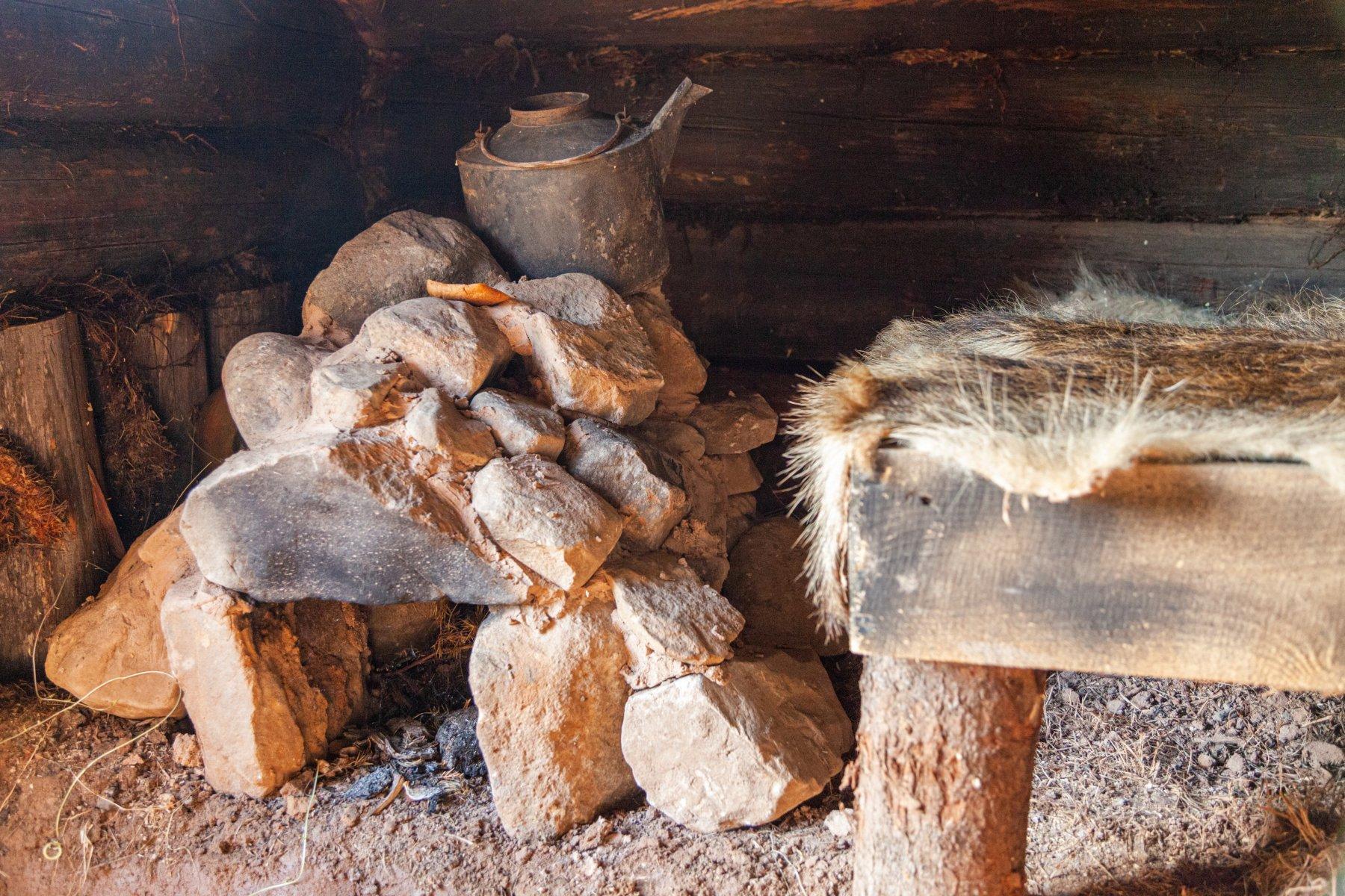 Охотничья изба. Комплекс Парга. Фото М. Р. Арасланова