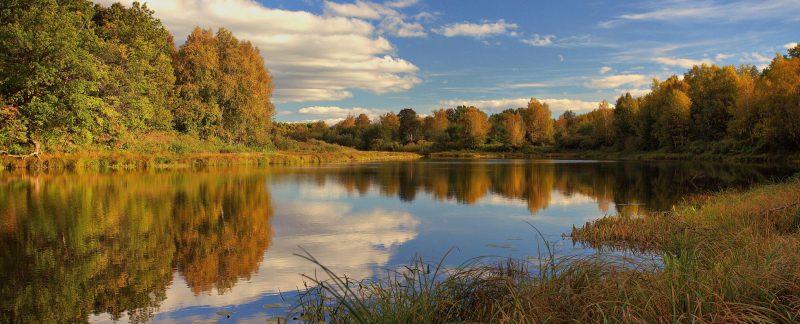 Озеро Нургуш осенью. Фото А. А. Широких