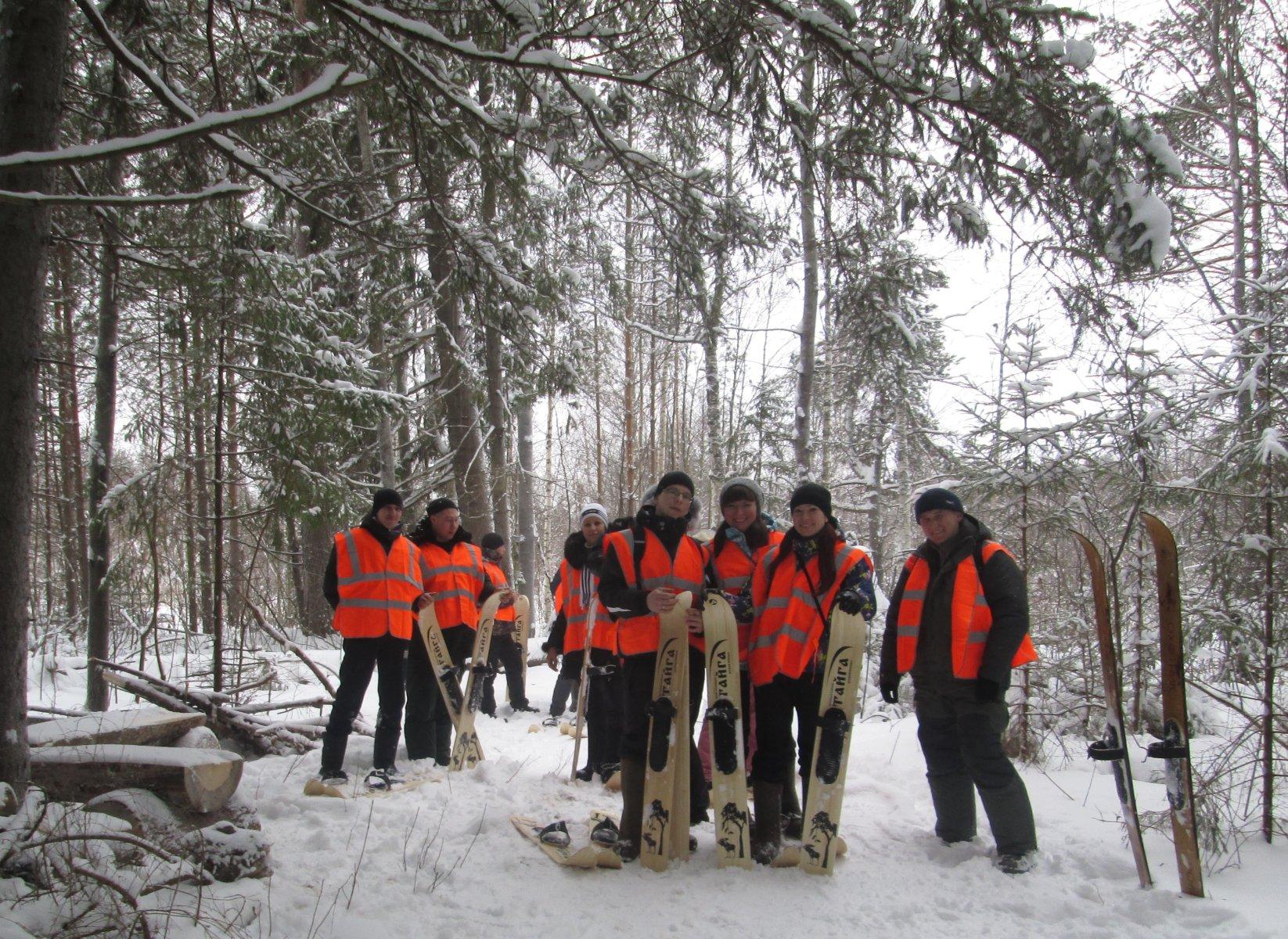 Лыжная экскурсия. Фото из архива заповедника