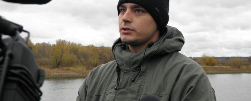 Интервью старшего госинспектора Н. А. Ожегова. Фото Л. Г. Целищевой